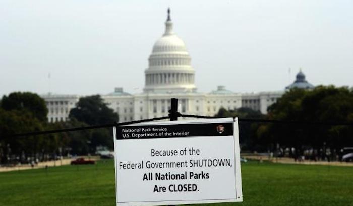 Shutdown parziale, il muro divide