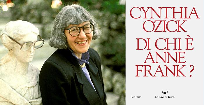 ... di Cynthia Ozick contro le letture edulcorate del Diario della  ragazzina ebrea uccisa dai nazisti. L intervista all autrice (da  Tuttolibri La Stampa) 5a69ad6ea78