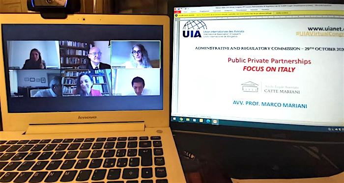 Il partenariato pubblico-privato tra i temi del Congresso dell'Unione Internazionale degli Avvocati